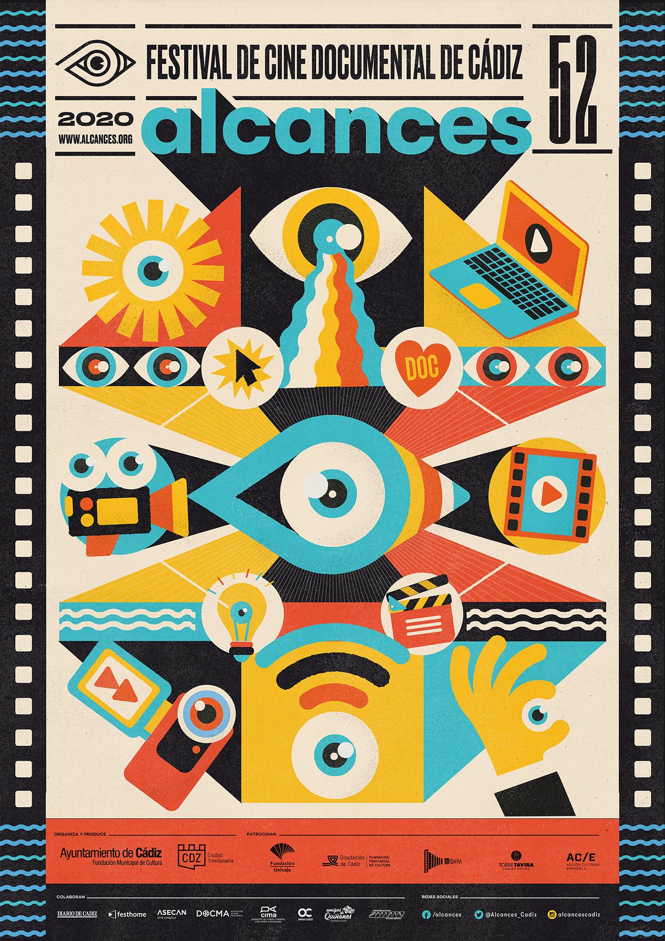 Cartel 52 edicion Alcances