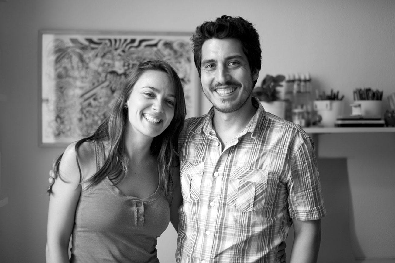 Raquel Jove y Raúl Gómez