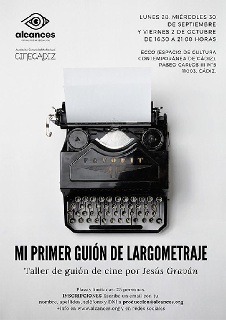 Mi primer guión de largometraje