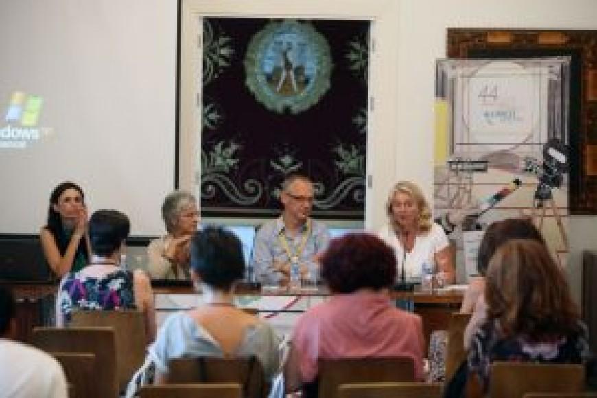 Celebración de la mesa redonda sobre Cine de Igualdad de Género en el CC Reina Sofía