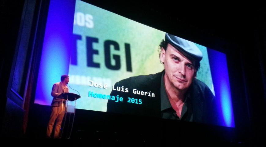 José Luis Guerín recibe el homenaje de Alcances