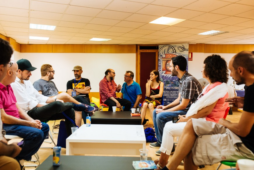 Alcances 2016 inicia los 'Desayuno con realizadores', dentro de las actividades paralelas del festival