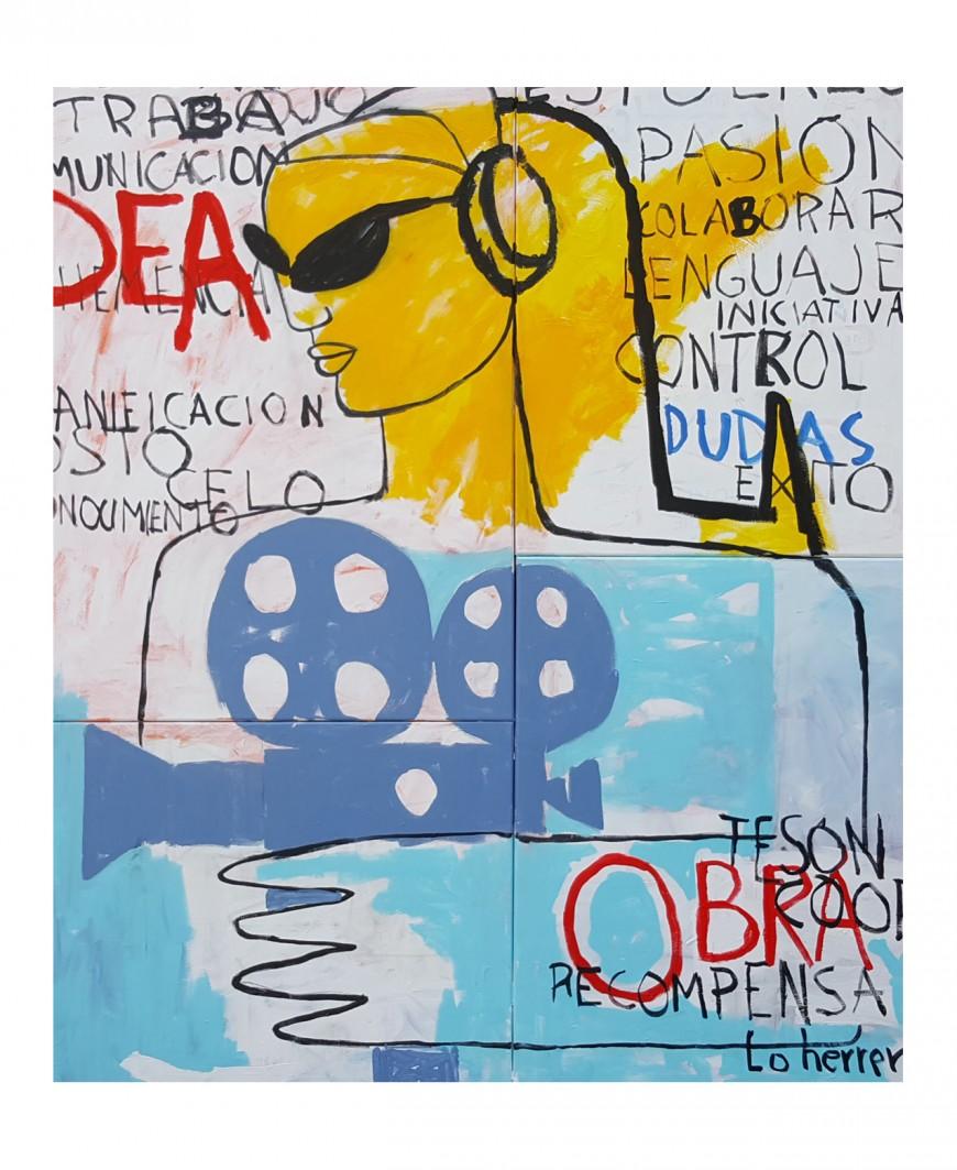 Un cartel del artista Lo Herrera será la imagen de Alcances en su 49 edición