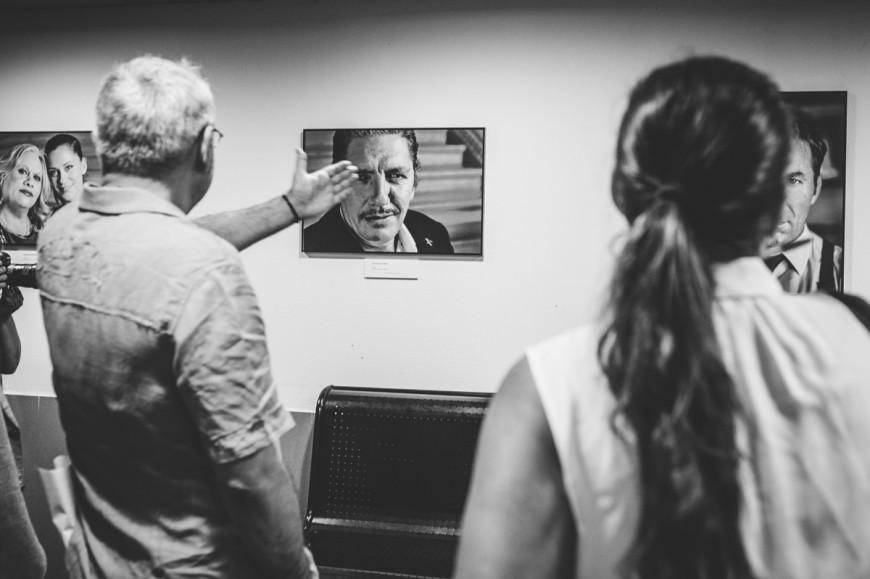 """ASECAN inaugura la exposición fotográfica """"30 Años de Cine Andaluz. 30 Años de Asecan"""" en Alcances"""