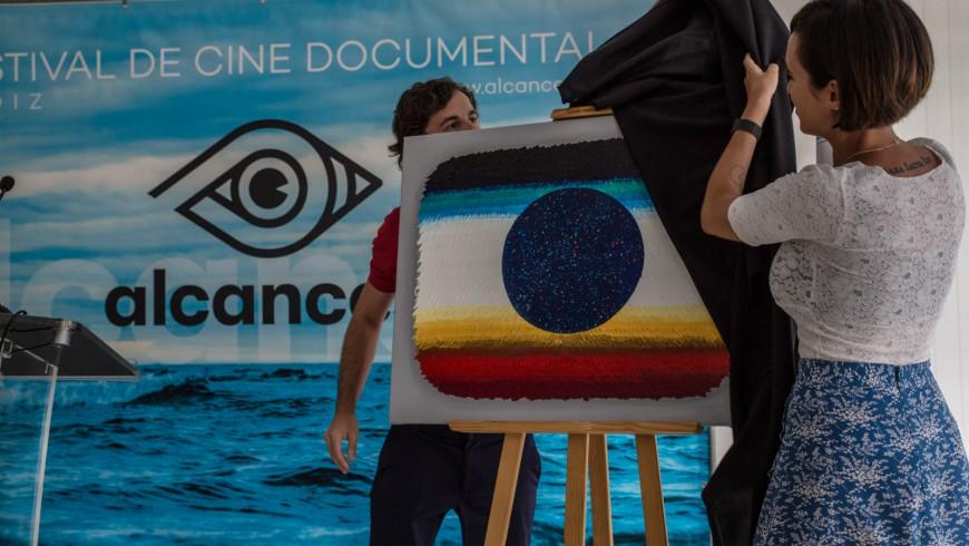 Alejandro Botubol firma la obra que servirá de cartel a Alcances 2019