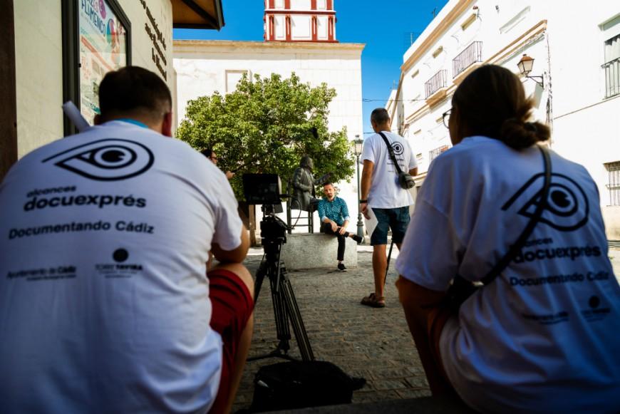 13 equipos de rodaje hacen de Cádiz un plató de cine en la VI edición de Docuexprés