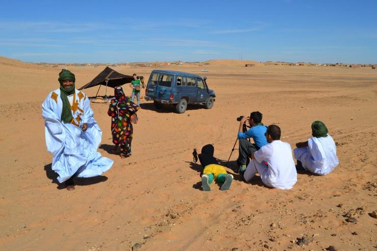 Imagen de película: Western: Sáhara