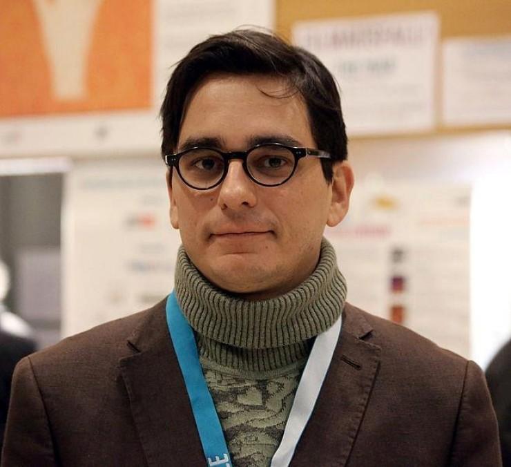Andrés Duque, director película Oleg y las raras artes