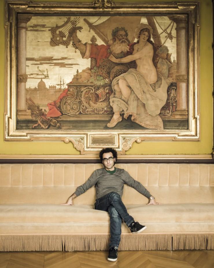 Luis E. Parés, director película El cadáver del tiempo