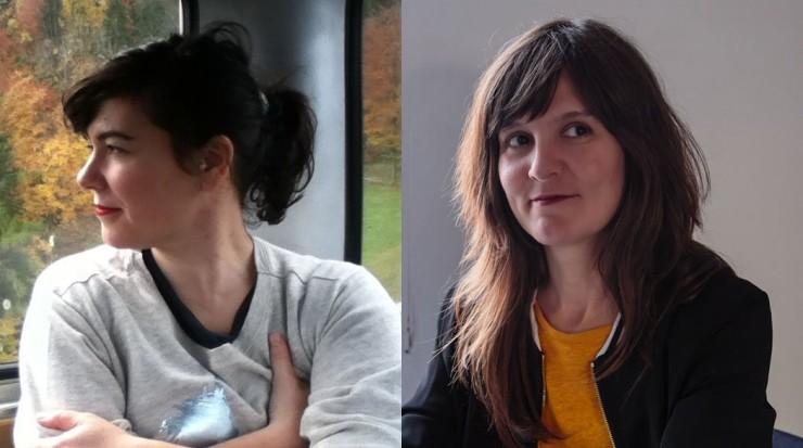 Sra. Polaroiska:ALAITZ ARENZANA Y MARÍA IBARRETXE, director película Andrekale
