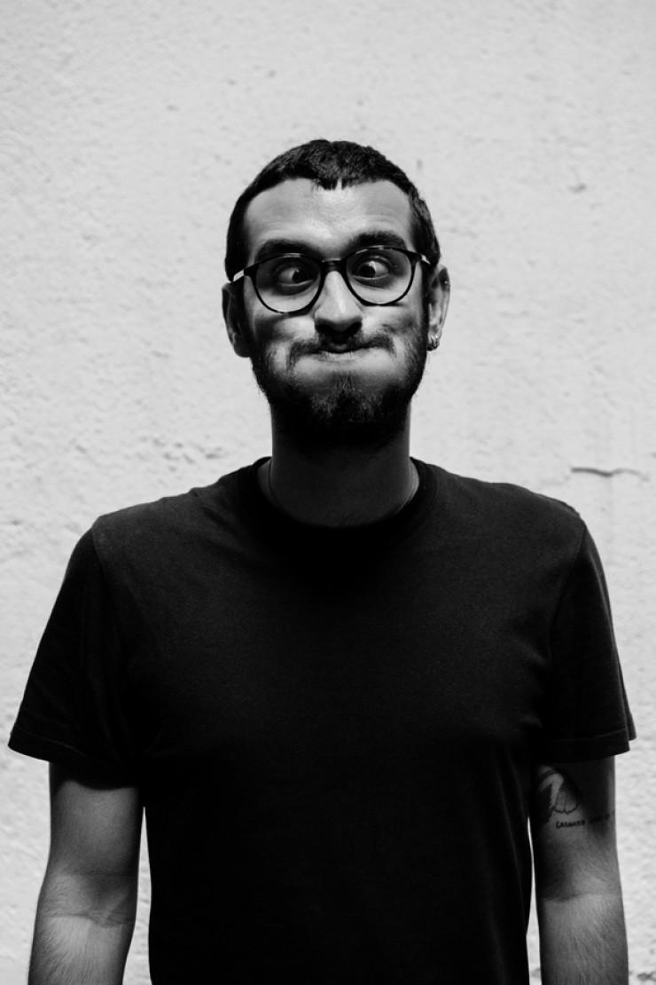 Javier Extremera, director película Hombre negro sin identificar