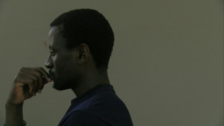 Imagen película Hombre negro sin identificar