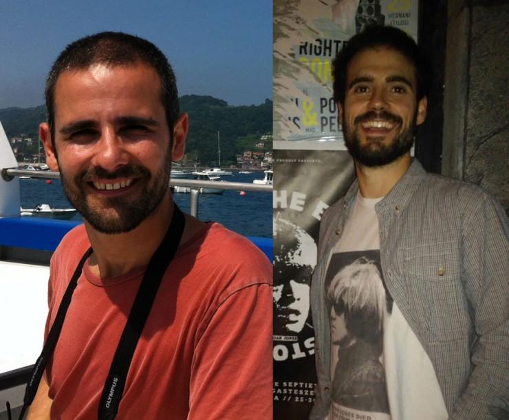Iskander García e Íñigo Jiménez, director película Colmenas