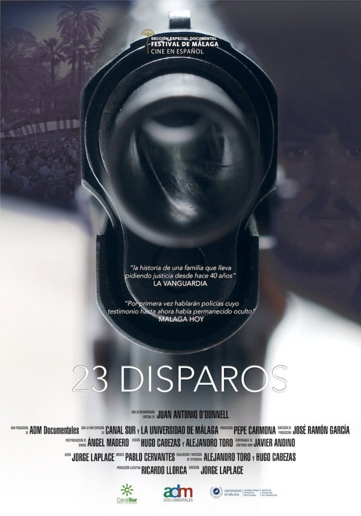 Imagen película 23 disparos