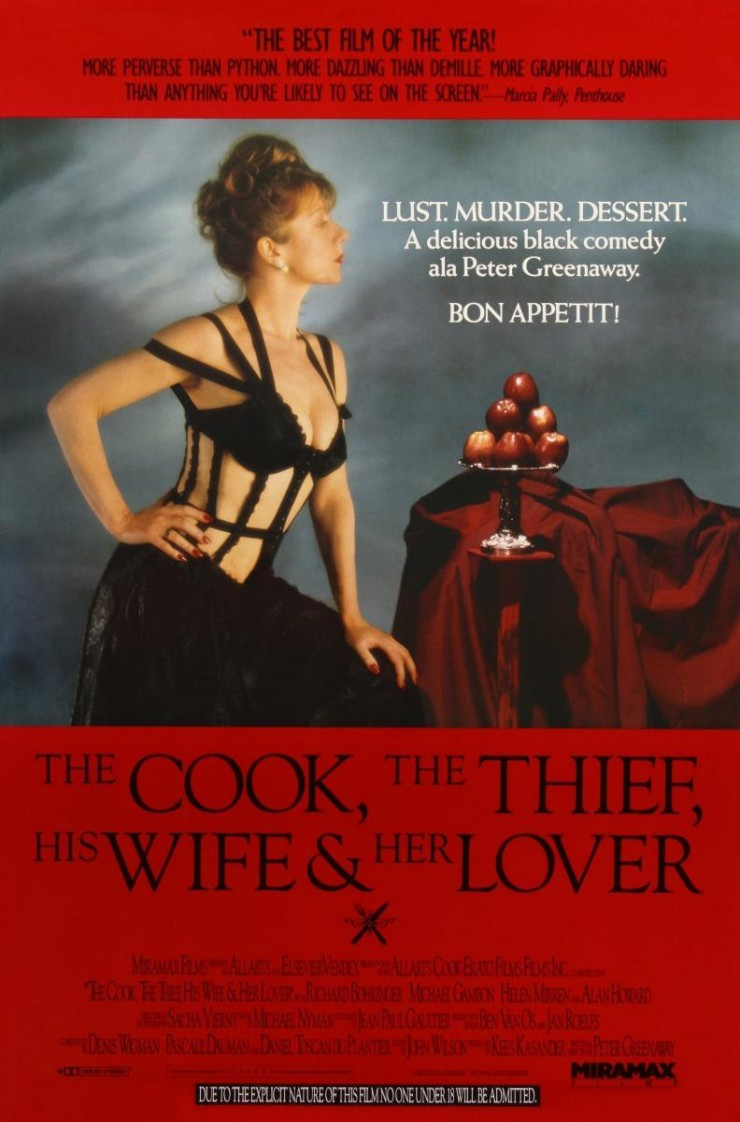 Imagen película El cocinero, el ladrón, su mujer y su amante
