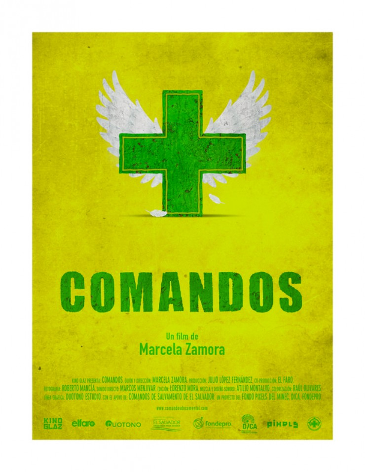 Imagen película Comandos