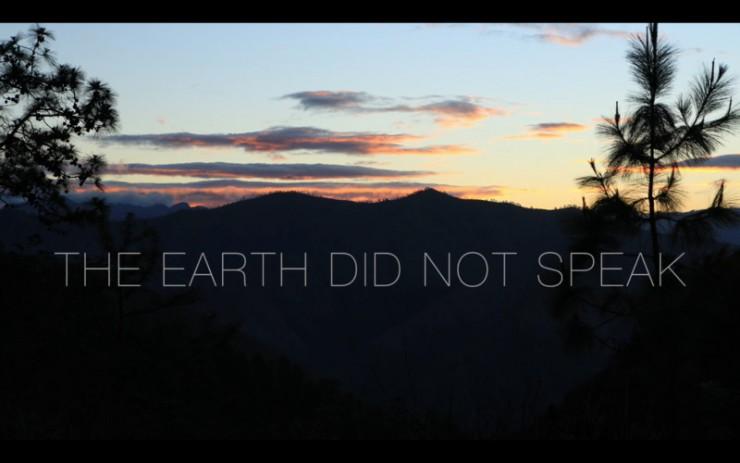 Imagen película La tierra no habló