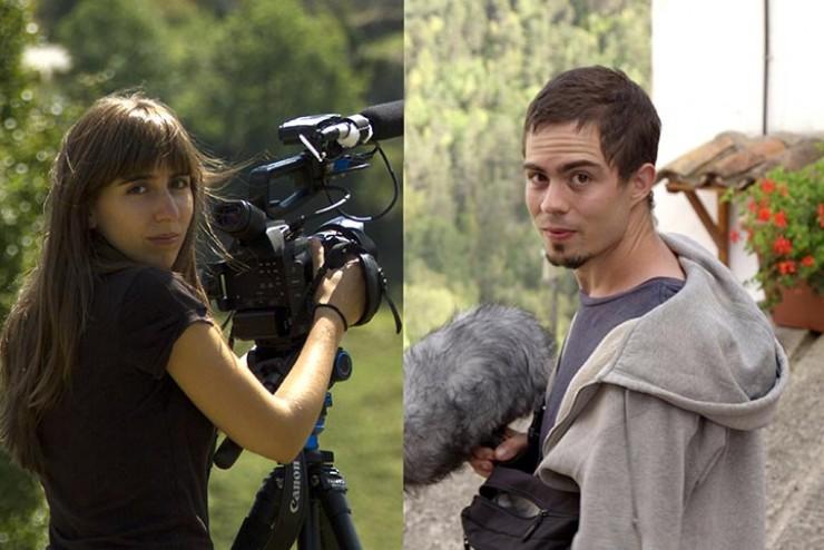 Isaac R. Folgarolas y Tànit Fernández, director película La Rambla Aquella Nit