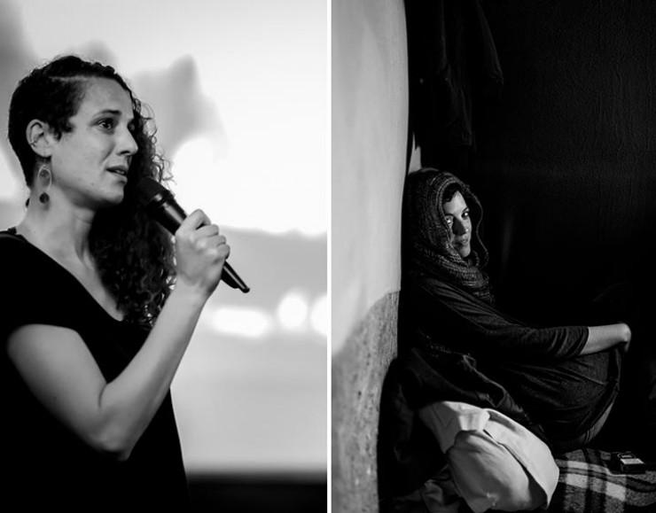 Patricia Sánchez Mora y Séverine Sajous, director película Mot de Passe: Fajara