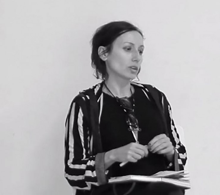 María Ruido, director película Mater Amatísima