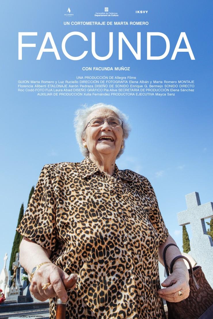 Marta Romero, director película Facunda