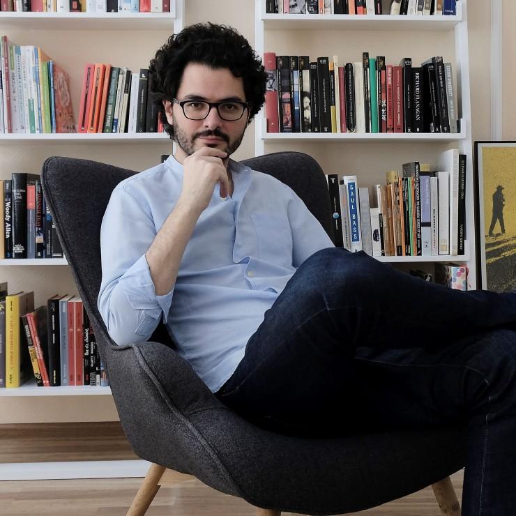 Víctor Giner, director película Waimai (Take Away)