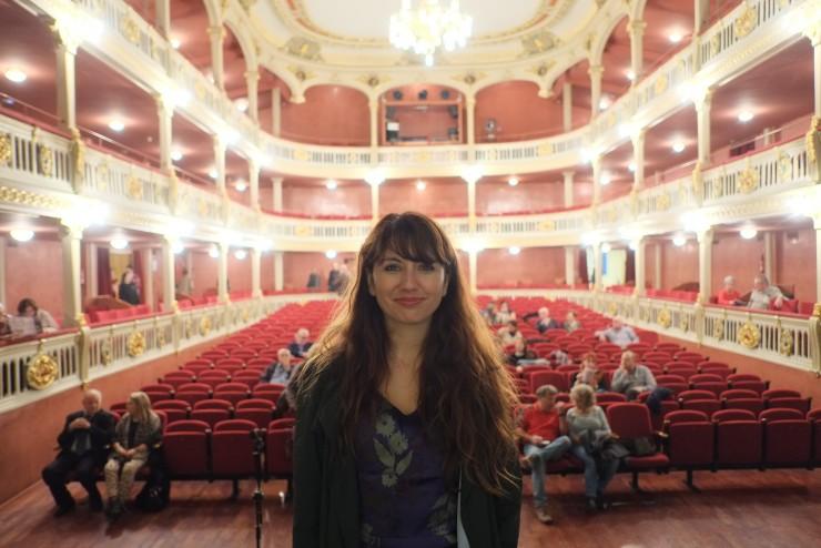 Carolina Astudillo Muñoz, director película Naturaleza muerta