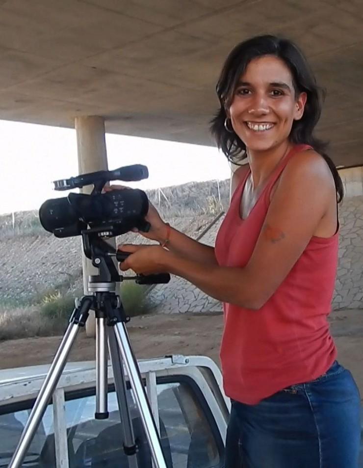 Joana Conill, director película La cigüeña de burgos