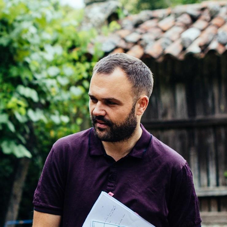 Xacio Baño, director película Augas abisais